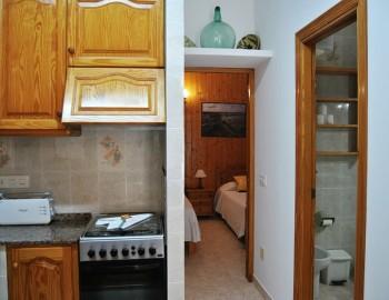 Cocina - Baño - Dormitorio
