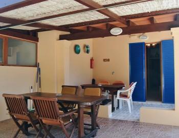 Terraza bungalow
